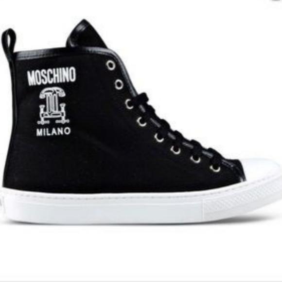 Moschino Shoes | Moschino High Top